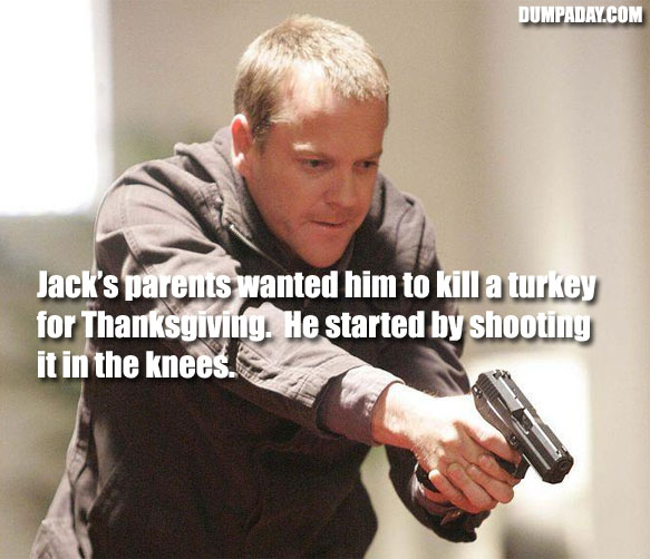Jack Bauer Funny Quotes: You Don't Know Jack (15 Pics