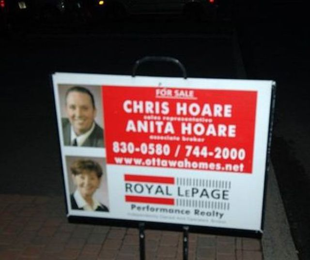 Funny Real Estate Signs (15 Pics