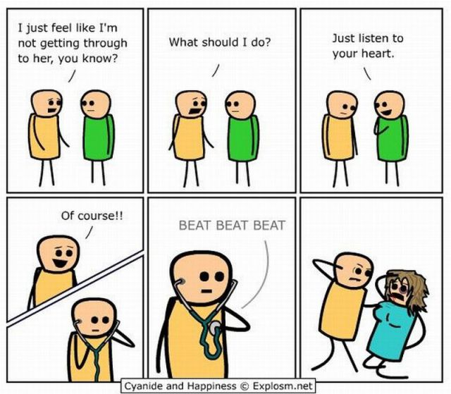 Badass Comic Strip Cyanide And Happiness Explosm Funny Inspiring