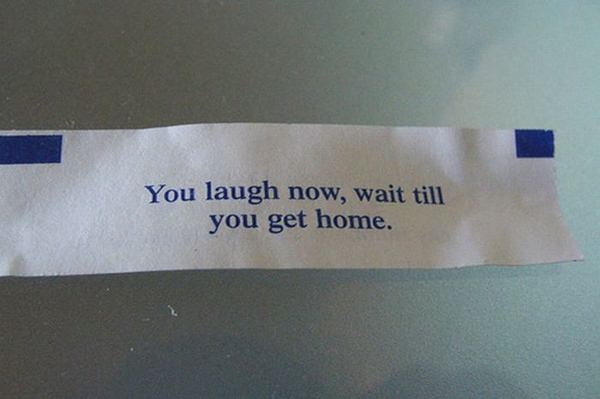 photograph about Printable Funny Fortune Cookie Sayings titled 30 Humorous Fortune Cookies