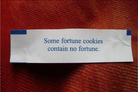 30 Funny Fortune Cookies