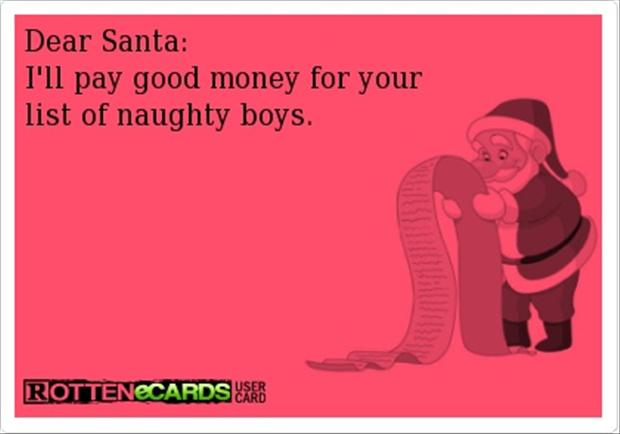 dear santa, funny