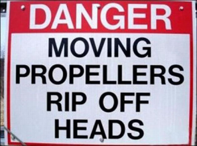 20 Funny Instructional Signs
