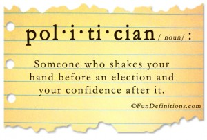 Fun Definitions - Politician