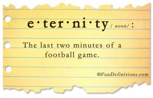 Fun Definitions - eternity