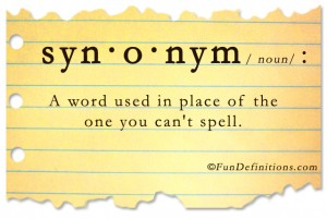 Funny definitions -synonym