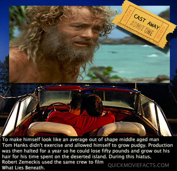 cast away movie facts dump a day