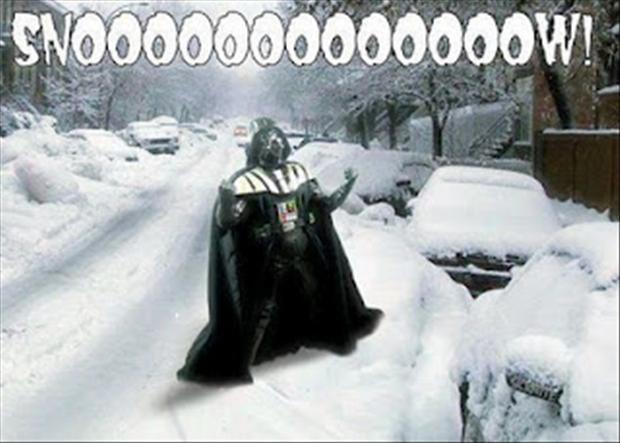 funny-pictures-darth-vader-snow - Dump A Day