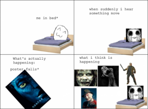 me in my bed rage comic