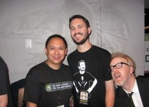 Adam Savage Photobomb