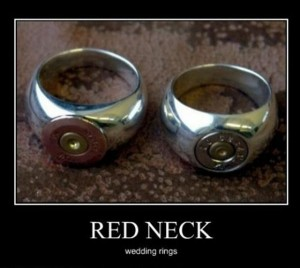 redneck wedding rings