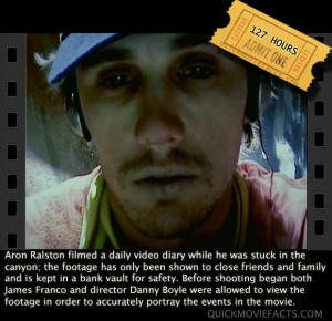 127 hrs Movie Fact