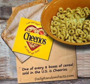 Cheerios Fact