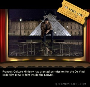 Da Vinci Code Movie Fact