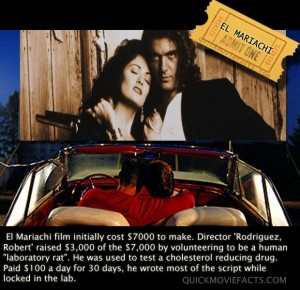 El Mariachi Movie Fact