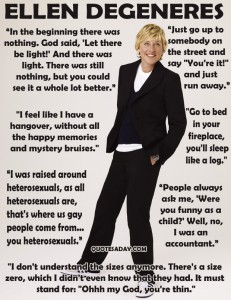 Ellen Degeneres Quotes