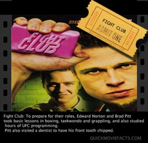 Fight Club Movie Facts