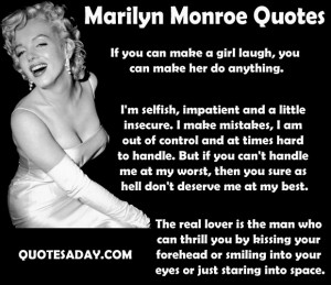 Marilyn Monroe Quotes 1