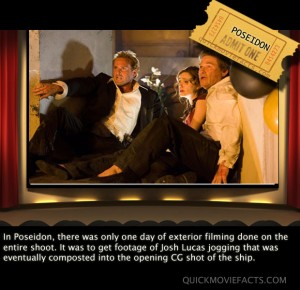 Poseidon movie fact