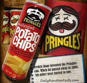 Pringles Inventor Fact