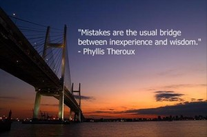 Quotes A Day- Mistakes Quote