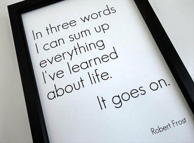 Quote For The Day | Quotes A Day Robert Frost Quote Dump A Day