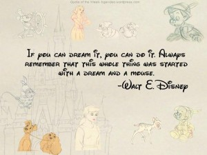 Quotes A Day- Walt Disney Quote