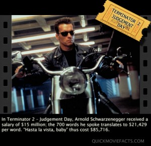 Terminator 2 Movie Fact