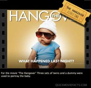 The Hangover Baby movie fact