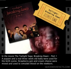 TwilightSaga movie facts2