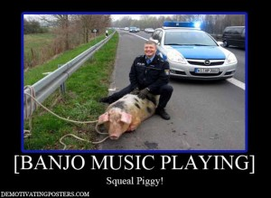 banjo music demotivational posters