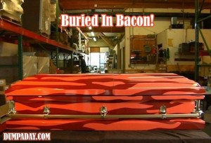 buried in bacon