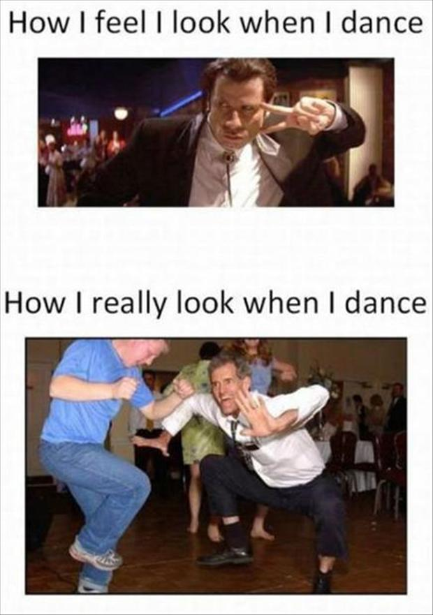 Funny Dirty Dancing Meme : Expectation vs reality dump a day