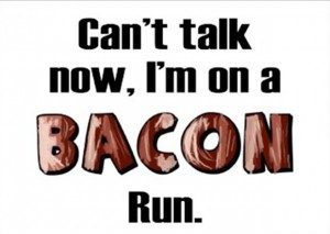 funny bacon