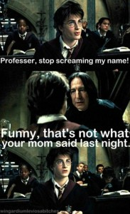 funny harry potter 7