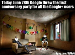 google plus anniversary