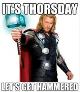 its thorsday