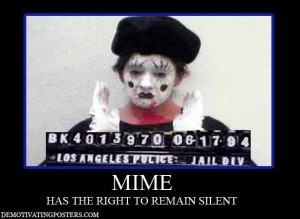 mime demotivational posters