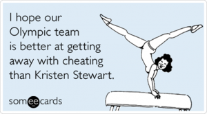 olympic someecard