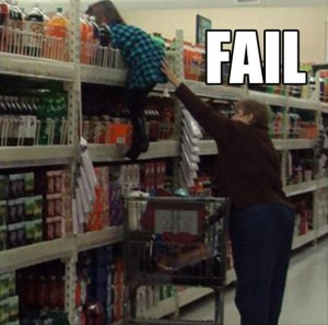 parent fail