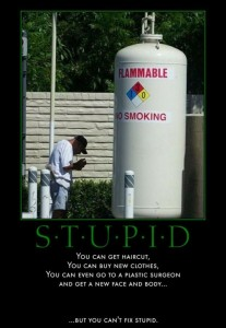 smoking fail