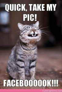 take a picture for facebook funny