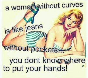 women without curves