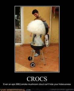 1 funny crocs
