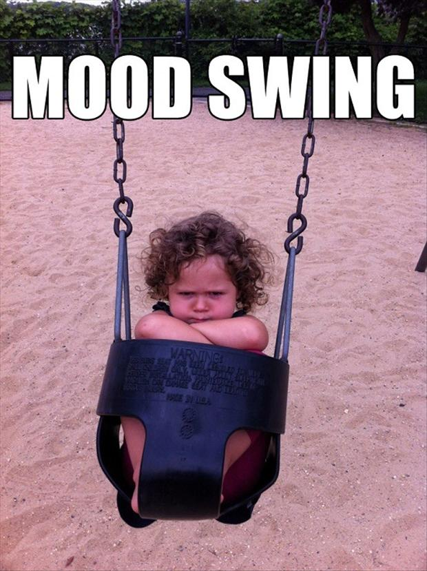 Funny Baby pics. Mood swing