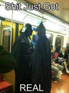 Darth Vadar Meets Batman