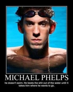 Michael Phelps Funny Pictures, demotivational posters