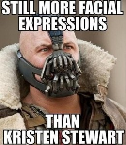 bane from batman rises funny kristen stewart picture