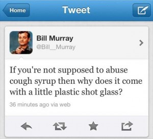 bill murray funny tweets