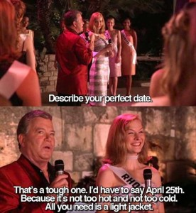 describe your perfect date miss america funny picture